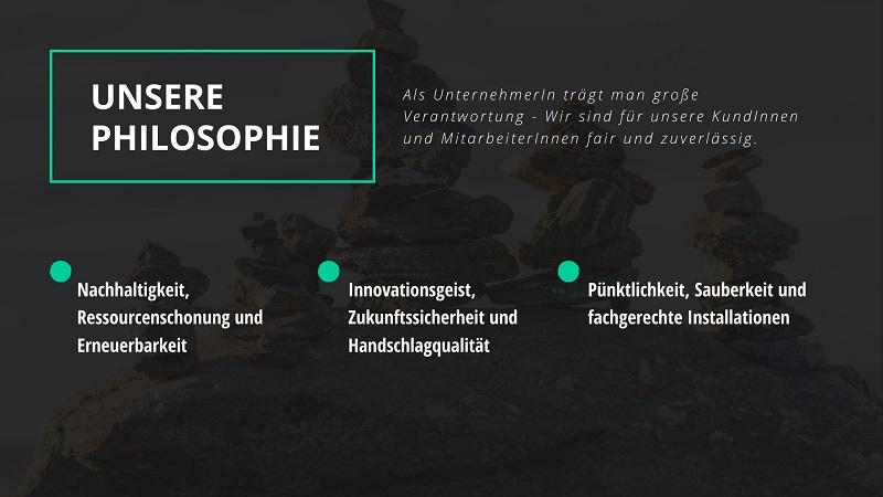 KBE Haustechnik - Installateur Philosophie