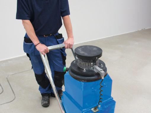 Fußbodenheizung Fräsen in 2 Werktagen