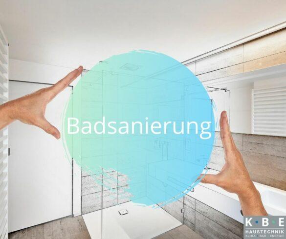 Badsanierung KBE Haustechnik Graz und Umgebung