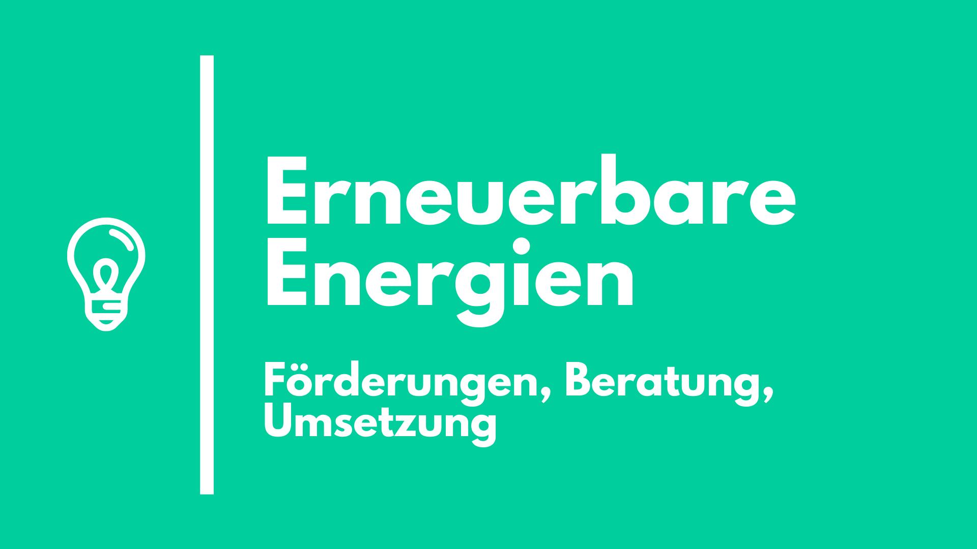 Erneuerbare Energien Installateur Lassnitzhöhe