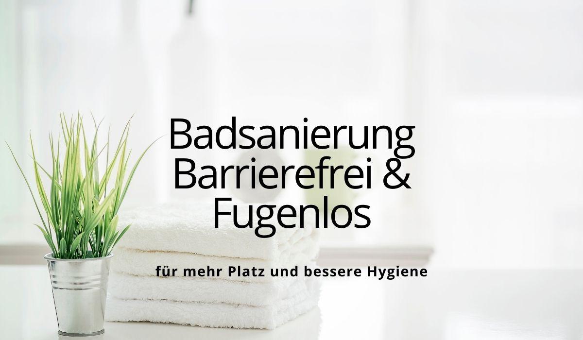 Barrierefreies Duschen im fugenlosen Badezimmer