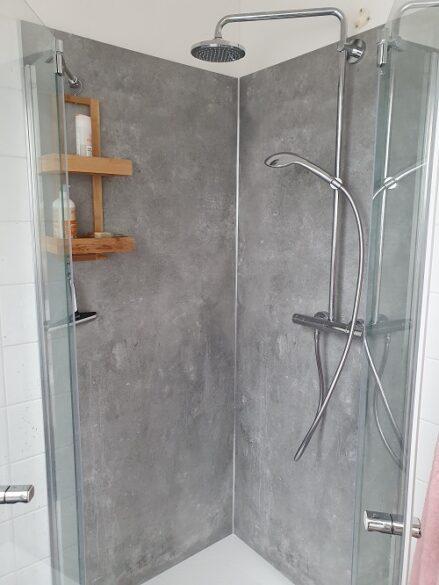 Brausetasse neu verbaut fugenlos- Installateur Lassnitzhöhe Kumberg Badrenovierung